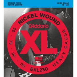 D'Addario EXL230 Heavy 055-110