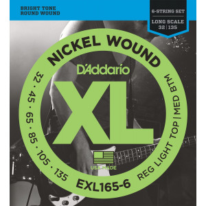 D'Addario EXL165-6 Custom...