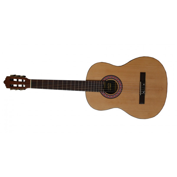 Husets Gitarr CG-1, 3/4-storlek Nybörjargitarr (Vänster)