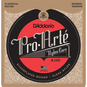D'Addario Pro Arté EJ45 Normal Tension, set