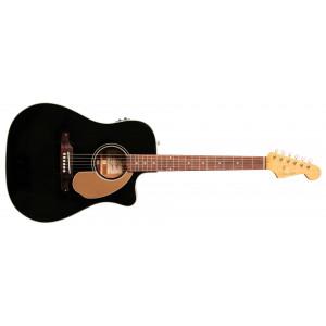 Fender Sonoran Thinline med Mikrofon Svart