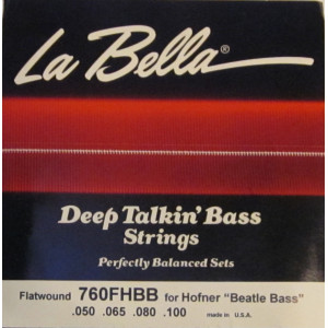 La Bella elbas 760FHBB Beatle Bass set