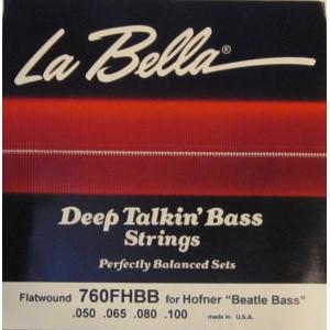 La Bella elbas 760FHBB Beatle Bass set