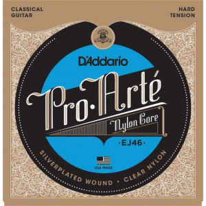 D'Addario Pro Arté EJ46 Hard Tension, set