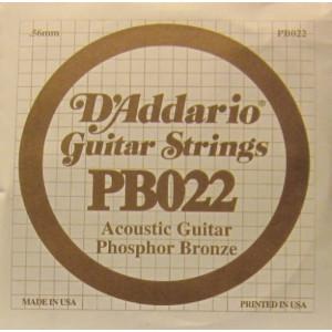 D'Addario phosphor bronze 022
