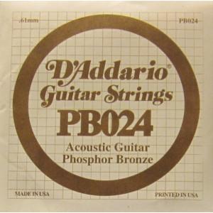 D'Addario phosphor bronze 024