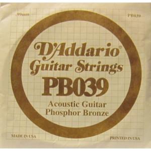 D'Addario phosphor bronze 039