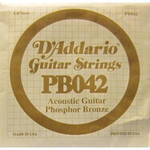 D'Addario phosphor bronze 042