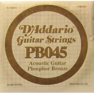 D'Addario phosphor bronze 045