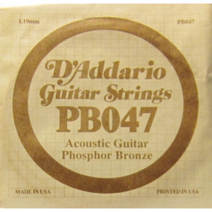 D'Addario phosphor bronze 047