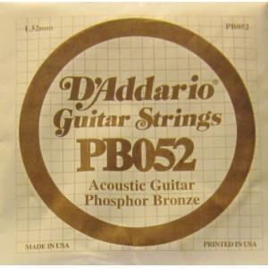 D'Addario phosphor bronze 052