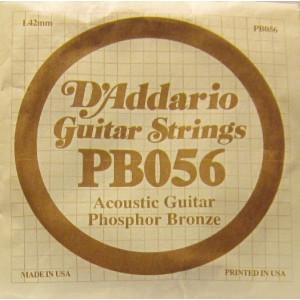 D'Addario phosphor bronze 056