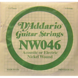 D'Addario nickel wound 046