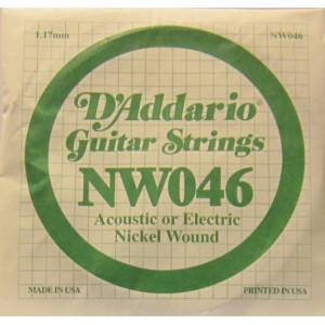 D'Addario nickel wound 046