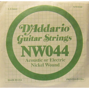 D'Addario nickel wound 044