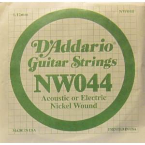D'Addario nickel wound 044