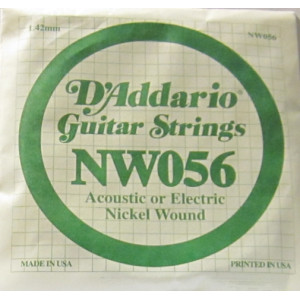 D'Addario nickel wound 056