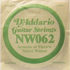 D'Addario nickel wound 062