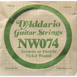 D'Addario nickel wound 074