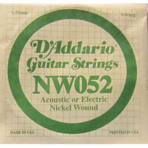 D'Addario nickel wound 052