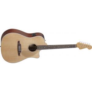 Fender Sonoran SCE Natur med mikrofon