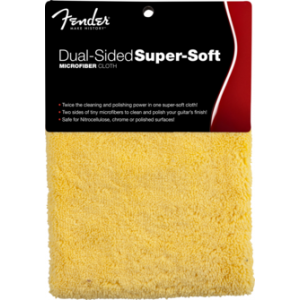 Fender Dual-Sided Super-Soft Microfiber Cloth