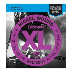 D'Addario XL120BT .009-.040 El, Balanced Tension