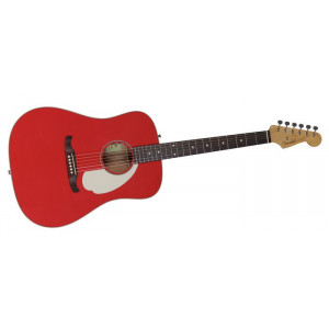 "Fender Custom Shop Kingman ""C"" Fiesta Red."