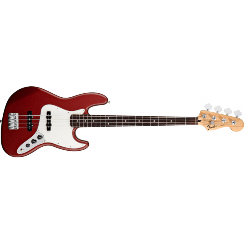 Fender Standard Jazz Bass Candy Apple Red