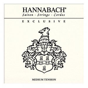 Hannabach Exclusive medium tension