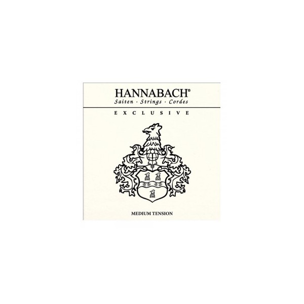 Hannabach Exclusive medium tension