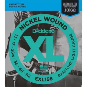 D'Addario XL158 .013-.062 El, Baritone