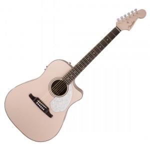 Fender Sonoran SCE Shell Pink med Mikrofon