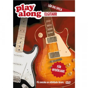 Play Along Elgitarr 1 DVD