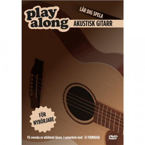 Play Along Akustisk Gitarr 1 DVD