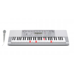 Casio LK-280 Keyboard med upplysta tangenter & sångmikrofon