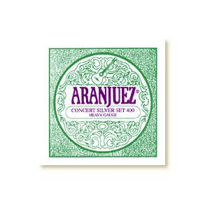 Aranjuez Concert Silver 400, Heavy Gauge, set