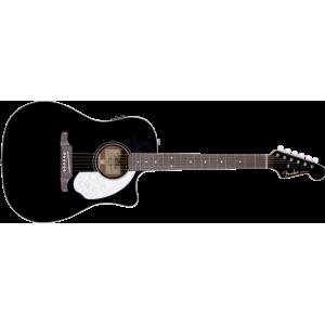 Fender Sonoran SCE Med Mikrofon. Svart