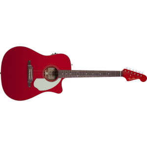 Fender Sonoran Candy Apple Red med Mikrofon