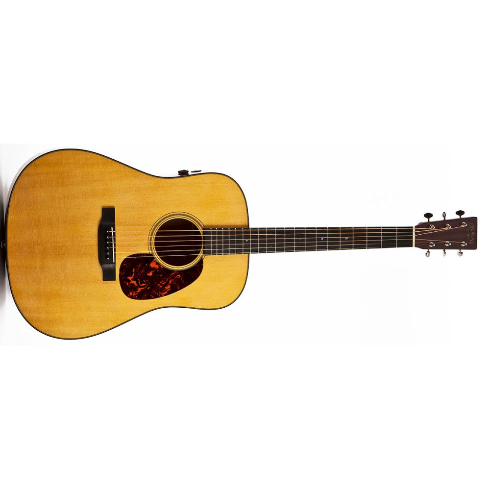 Buy Martin D-18E Retro m. etui Western guitar with ...