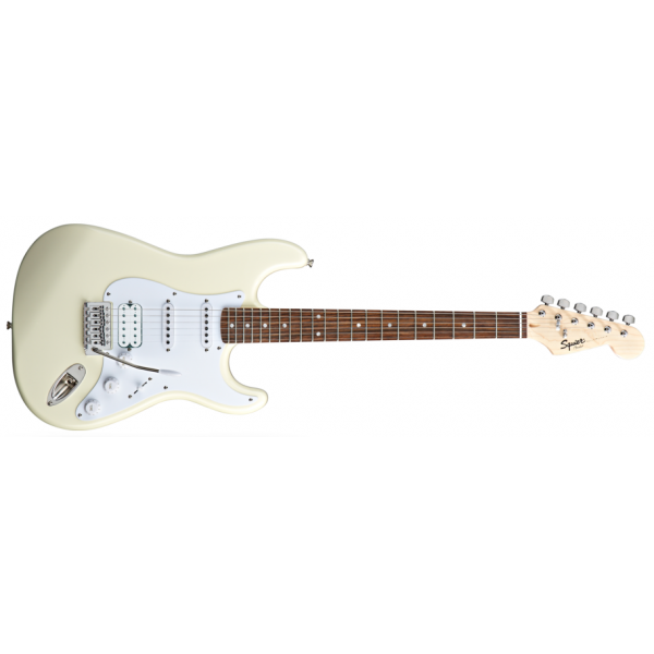 Squier by Fender Stratocaster Bullet HSS Arctic White