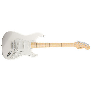 Fender Stratocaster Standard Arctic White Maple Neck
