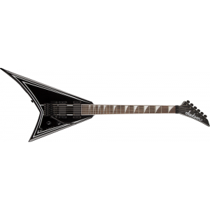 Jackson RRXMG Rhoads. Black with White Pinstripes