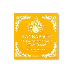 Hannabach 815 Gul Super low tension, set