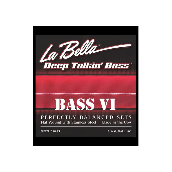 La Bella Bass VI / Bass Six Round Wound