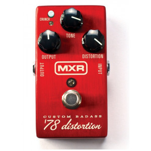 MXR M78 Custom Baddass Distortion