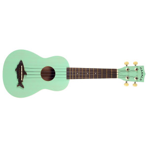 Makala Shark Surf Green m fodral