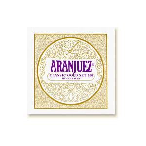 Aranjuez Classic Guld 600,Heavy Gauge, set