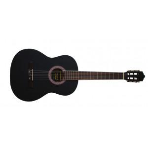Husets Gitarr 3/4, Nybörjargitarr / Barngitarr Svart