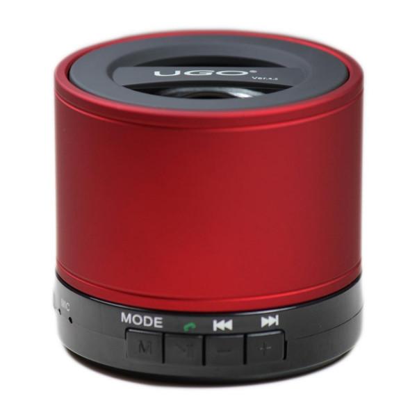 UGO Bluetooth mini speaker Röd